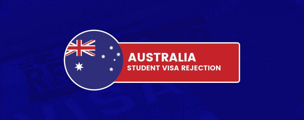 Common Australia Student Visa Rejection Reasons